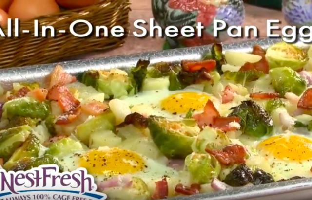 All in One Sheet Pan Eggs