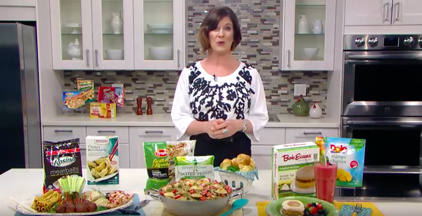 Save Time & Money During Frozen Food Month with Meal Ideas from Ceci Carmichael