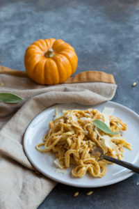 Pumpkin Spice Vodka Sauce Linguine
