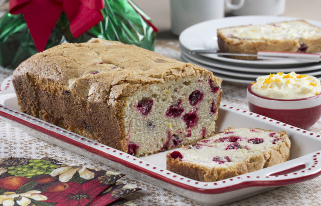 Cranberry Orange Zest Quick Bread