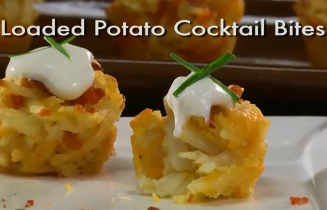 Loaded Potato Cocktail Bites Video