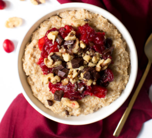 Cranberry Dark Chocolate Chunk Steel Cut Oatmeal