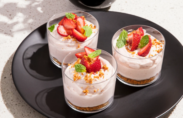 Strawberry Cheesecake Mousse