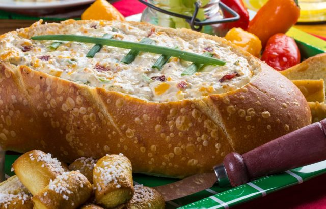Half-Time Bacon Cheese Dip