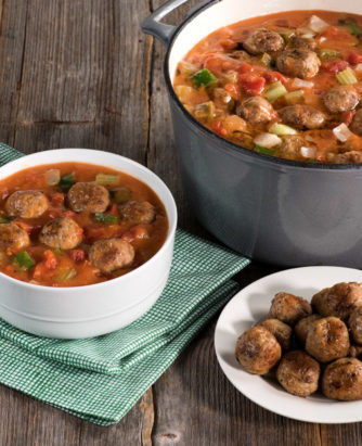 Farm Rich Meatball Gumbo