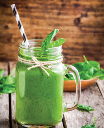 Spinach Sensation Smoothie
