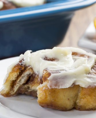 Rise and Shine Cinnamon Buns