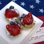 Athens Red White Blue Cannoli Sliders