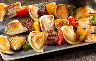 Mrs Ts Pierogies Grilled Mini Kabobs