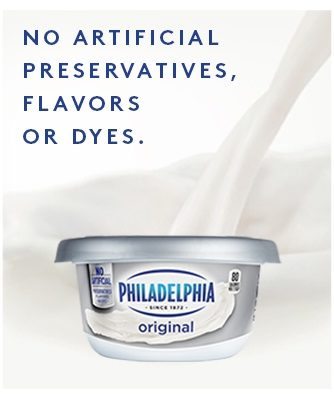 Philly Cream Cheese June 2018 Banner Ad