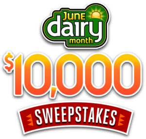 June Dairy Month $10,000 Sweepstakes