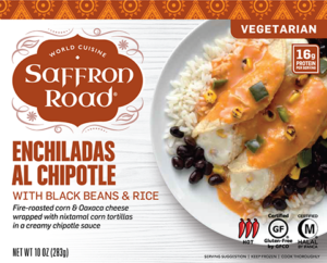 Saffron Road Enchiladas al Chipotle