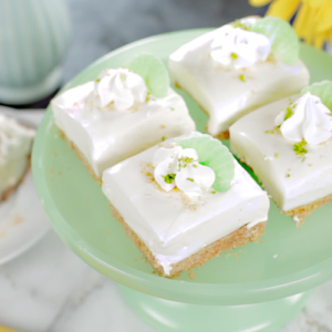 Reddi Whip Key Lime Icebox Squares