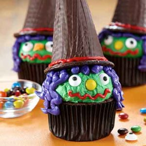 Land O Lakes Witches Cupcakes