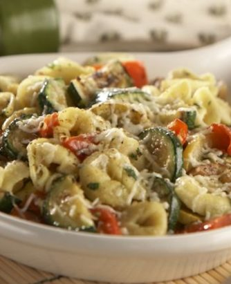 Rosina Sauteed Tortellini with Grilled Vegetables