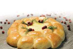 Holiday Brie Wreath