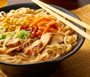 Spicy Miso Chicken Ramen