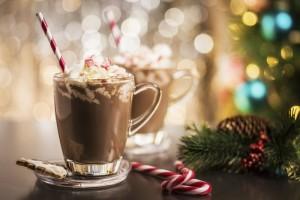 Candy Cane Mocha Hot Chocolate