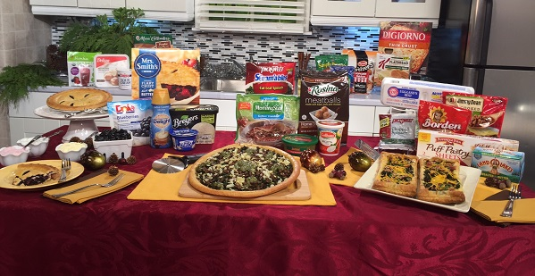 Holiday Mealtime Hacks Satellite Media Tour
