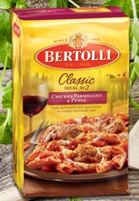 Chicken Parmigiana & Penne