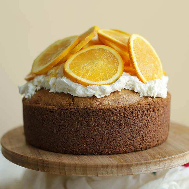 Orange Cornmeal Cake