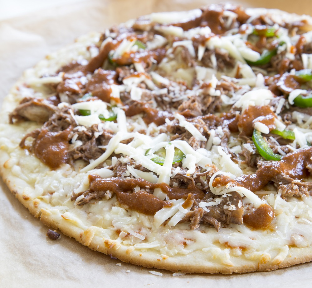 Beef Short Ribs Gluten Free Pizza