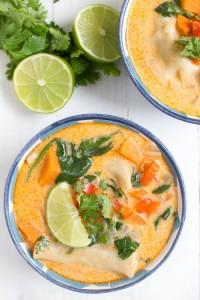 Thai-Coconut-Potsticker-Soup