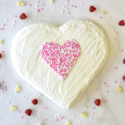 Raspberry-Filled-Heart-Cake