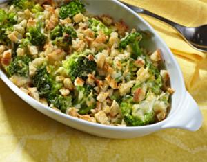 Broccoli Parmesan Au Gratin