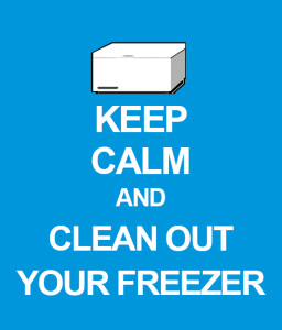 Clean your Freezer