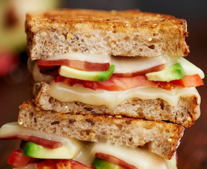 Borden Turkey Bacon and Tomato Grilled Cheese