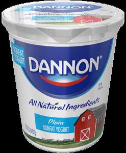 Dannon Plain Non-fat Yogurt