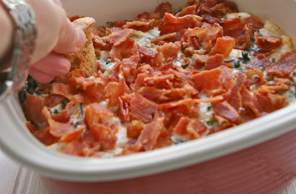 Kale and Bacon Dip