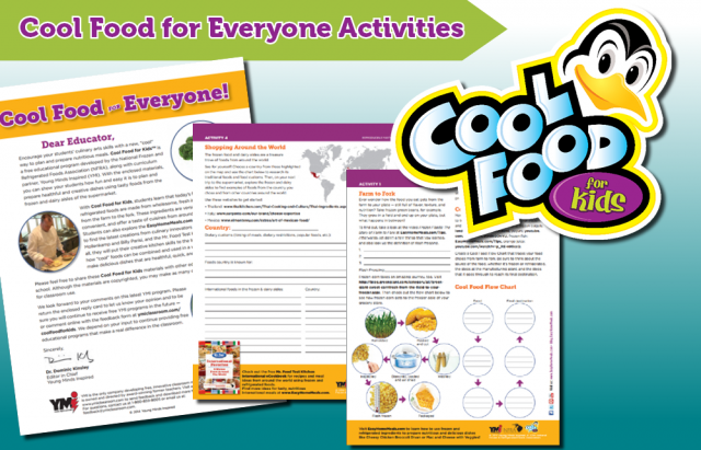 Cool Food for Everyone Activities
