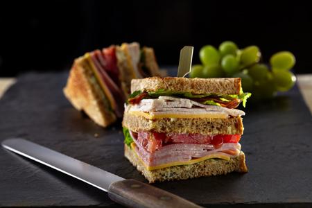 All American Club Sandwich Easy Home Meals