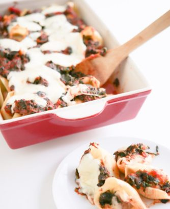 Meatball Stuffed Shells