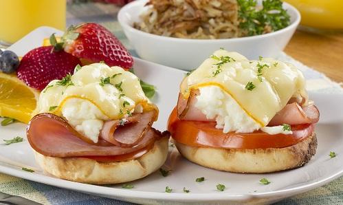 MFTK Breakfast English Muffin Melt