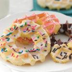 Glazed Waffle Donuts
