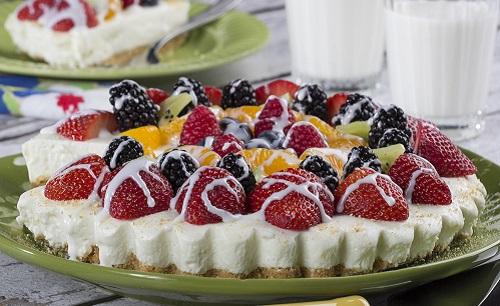 Lemon Cream Fruit Tart