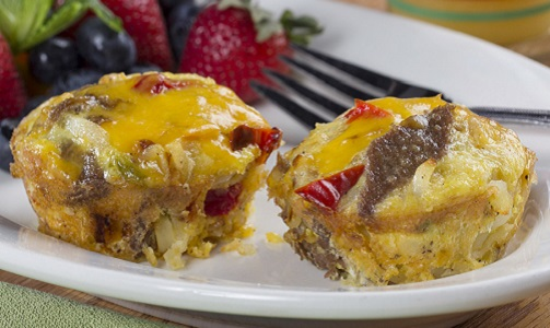 MFTK Philly Cheesesteak Omelet Cups