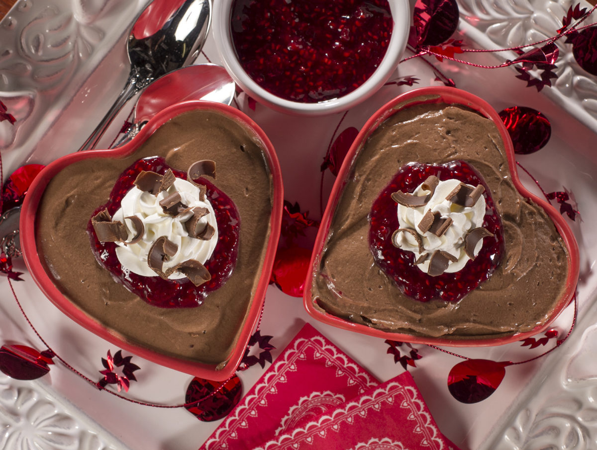 Raspberry Kiss Chocolate Mousse