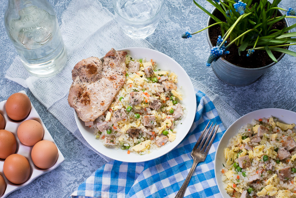 Dani Pork Fried Cauliflower Rice