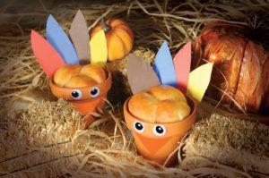 Thanksgiving Turkey Rolls