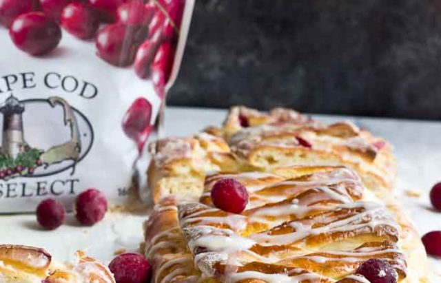 Cranberry Cream Cheese Braid