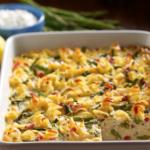 vegetable kugel casserole