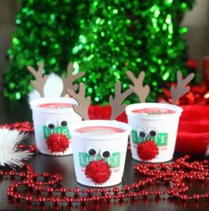 Rudolph the Red Nose Reindeer Italian Ice Cups