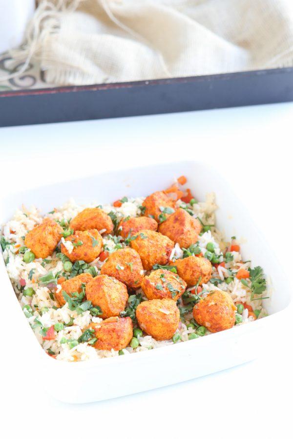 Tandoori Chicken and Rice Casserole