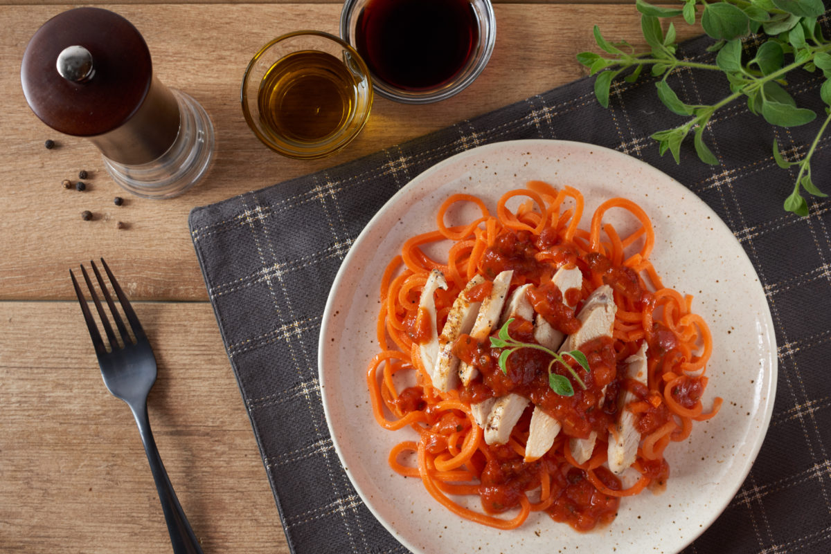 Chicken Marinara Carrot