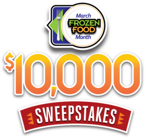 March Frozen Food Month 10K Sweeps logo