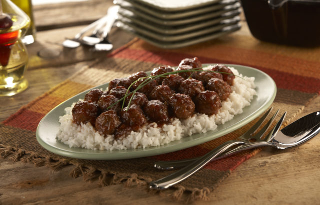 Maple Chili Meatballs